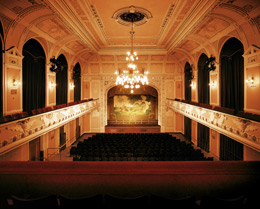 """De grote zaal van het """"Smetana House"""" in Litomysl"""